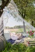 Sitzkissen Aline Grau ca. 55x35cm - Grau, Textil (50/30cm) - Premium Living