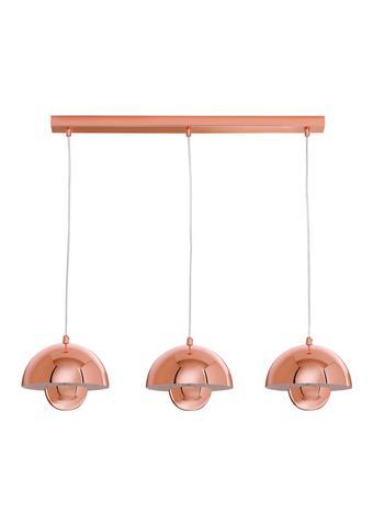 Hängeleuchte max. 40 Watt 'Style' - Kupferfarben, Metall (20/9/26cm) - Bessagi Home