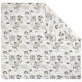 Tagesdecke Fleur Bunt ca. 220x240cm - Beige/Schwarz, ROMANTIK / LANDHAUS, Textil (220/240cm) - Mömax modern living