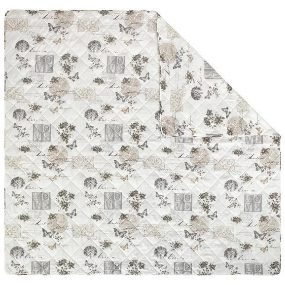 tagesdecke fleur in bunt ca 220x240cm online kaufen m max. Black Bedroom Furniture Sets. Home Design Ideas