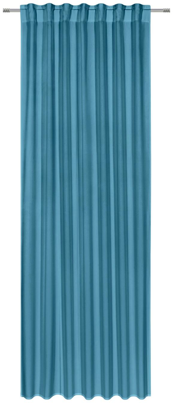 Kombivorhang Ulli Petrol 140x300cm - Petrol, Textil (140/300cm) - Mömax modern living