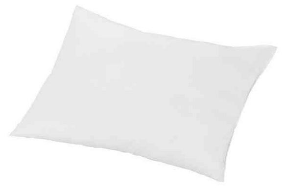 Vzglavnik Zilly - bela, tekstil (70/90cm) - Nadana