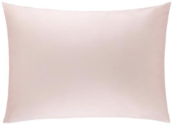 Kissenhülle Belinda, ca. 70x90cm - Hellgrau/Rosa, Textil (70/90cm) - Premium Living