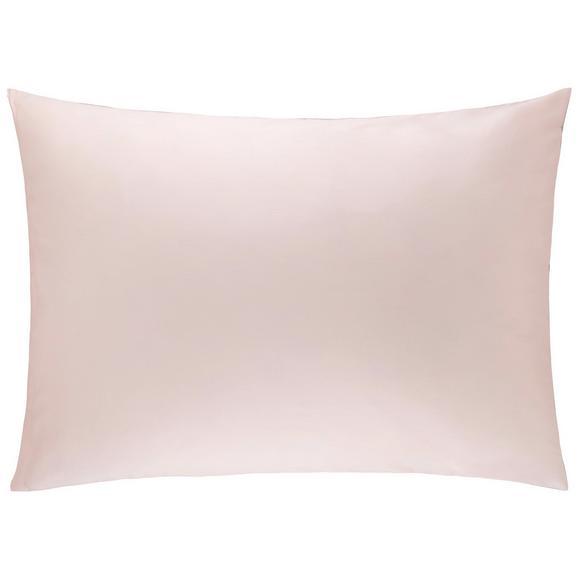 Kissenhülle Belinda ca. 70x90cm - Hellgrau/Rosa, Textil (70/90cm) - Premium Living