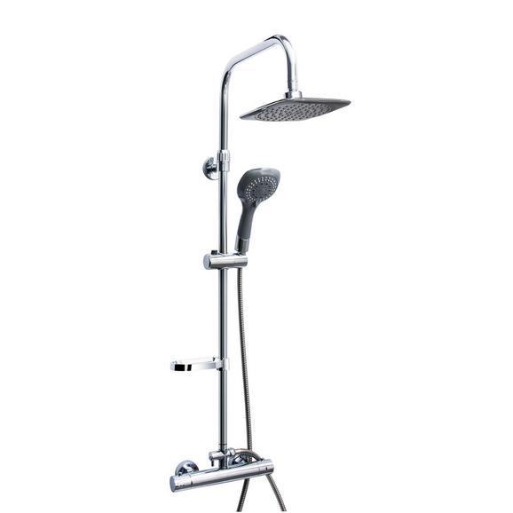 Zuhanyszett As410 - Króm (20/120/10cm) - Sanotechnik