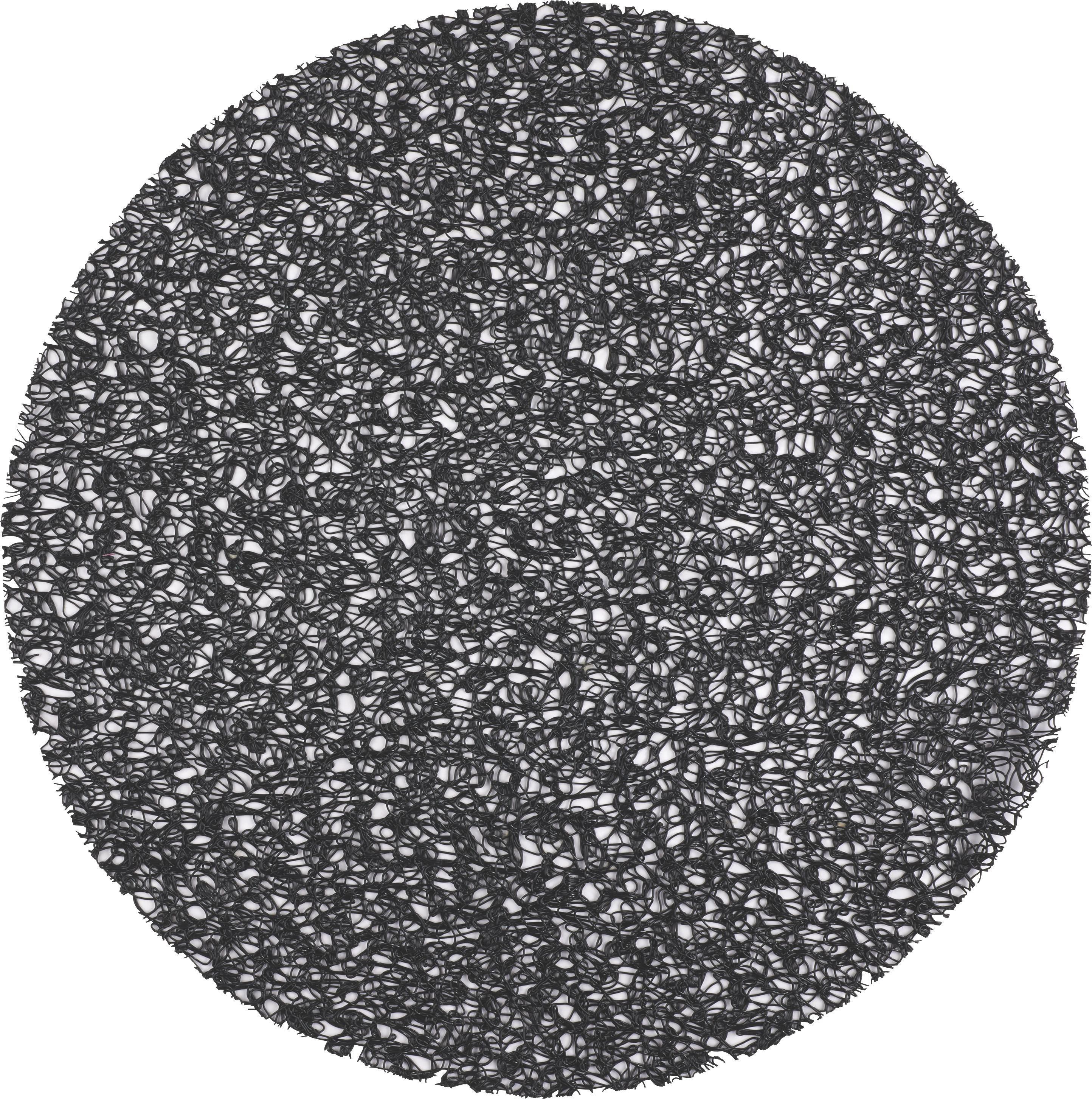 Asztali Szett Win - világosszürke/fekete, modern, műanyag (38cm)