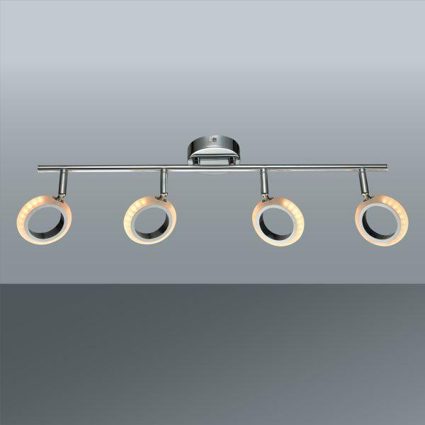 LED-Strahler Tino max. 4 Watt - MODERN, Kunststoff/Metall (58/18,5cm) - MÖMAX modern living