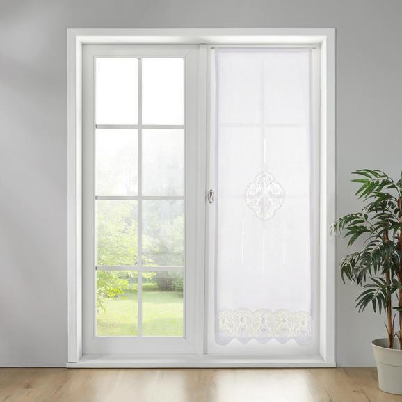 Gardine Vanessa ca. 60x180cm - Weiß, KONVENTIONELL, Textil (60/180cm) - Premium Living