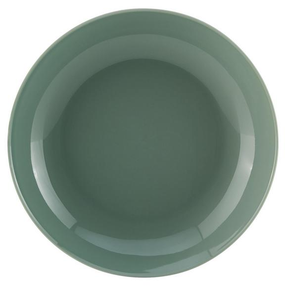 Suppenteller Sandy aus Keramik Ø ca. 20cm - Mintgrün, KONVENTIONELL, Keramik (20/3,5cm) - Mömax modern living