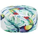 Pouf Medellin ca. 50x20cm - Multicolor, Textil (50/20cm) - Mömax modern living