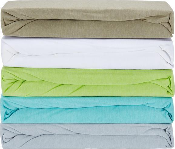 Gumis Lepedő Poldi - Iszap/Zöld, Textil (100/200cm) - Mömax modern living