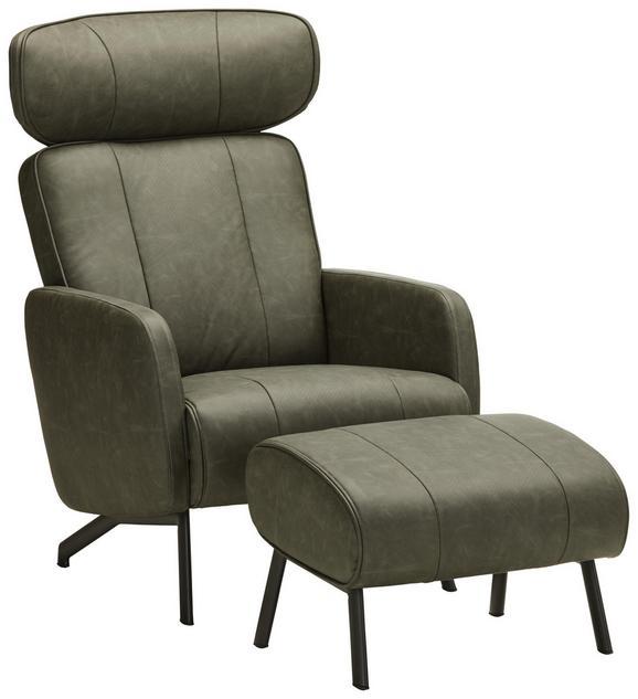 Relaxsessel in Grau mit Relaxfunktion - Schwarz/Grau, MODERN, Holz/Textil (84/107,5/72cm) - Mömax modern living