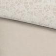 Bettwäsche Evelin Stein 135x200cm - Grau, ROMANTIK / LANDHAUS, Textil (135/200cm) - Mömax modern living