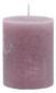 Stumpenkerze Lia In Mauve - Violett, MODERN (6,8/9cm) - MÖMAX modern living
