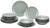 Kombiservice Inka Mint, 18-teilig - Mintgrün, Keramik - Mömax modern living