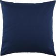Pernă Decorativă Zippmex - Albastru închis, Material textil (50/50cm) - Based