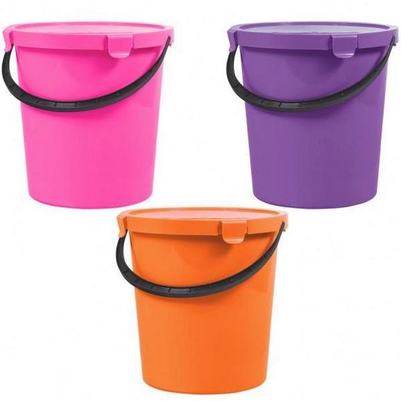 Vödör Tetővel Berry - Pink/Lila, Műanyag (5l) - Mömax modern living