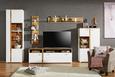 Keilrahmenbild Lucie,104x144x4,3cm - Multicolor/Weiß, MODERN, Holz/Textil (104/144/4,3cm) - Mömax modern living