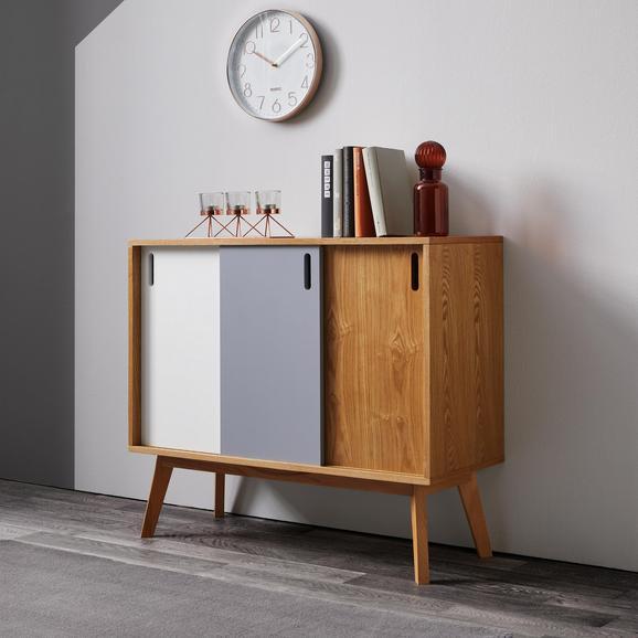 Sideboard Maris - Eichefarben/Buchefarben, MODERN, Holz (88/76/35cm) - Bessagi Home