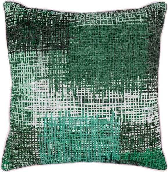 Díszpárna Marble -ext- - Zöld/Szürke, Lifestyle, Textil (45/45cm) - Mömax modern living