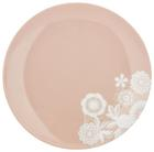 Desertni Krožnik Lacey - roza, Romantika, keramika (20cm) - Mömax modern living