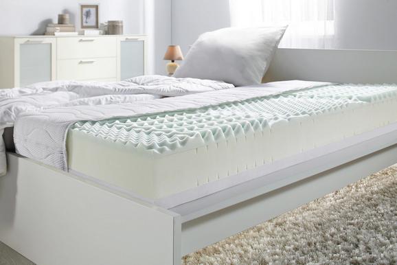 Komfortschaummatratze Kombikern, ca. 100x200cm - Textil (100/200cm) - BASED