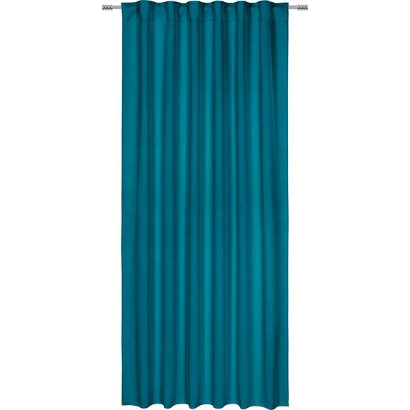 Draperie Opacă Riccardo - petrol, Modern, textil (140/245cm) - Premium Living