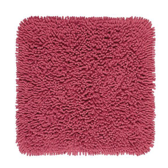 Covoraș De Baie Jenny - roșu, textil (50/50cm) - Modern Living