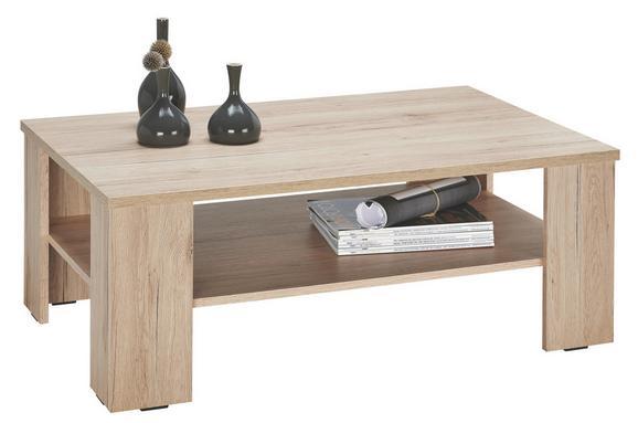 Couchtisch Holz - Eichefarben, KONVENTIONELL, Holz (100/39/63cm) - Mömax modern living