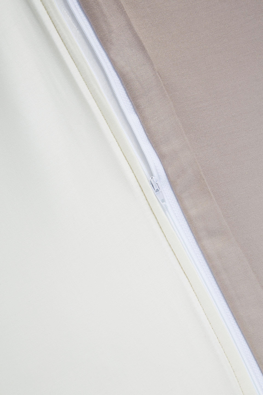 Bettwäsche Belinda ca. 155x220cm - Creme/Grau, Textil (155/220cm) - PREMIUM LIVING
