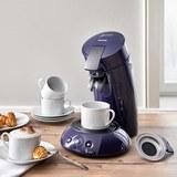 Kaffeepadmaschine Senseo - Dunkelblau, MODERN, Kunststoff/Metall - Philips