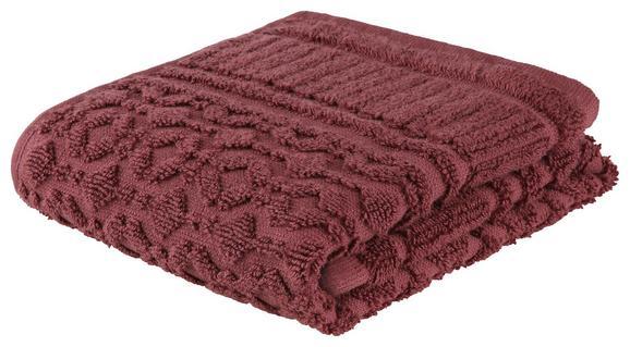 Gästetuch Carina in Lila - Lila, ROMANTIK / LANDHAUS, Textil (30/50cm) - Mömax modern living