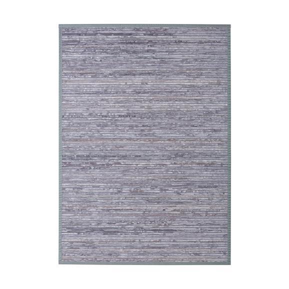 Flachwebeteppich Paris Grau 120x170cm - Grau, Textil (120/170cm) - Mömax modern living