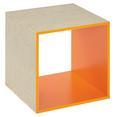 Vstavek Za Regal Aron/space - oranžna, leseni material (35/35/33cm)