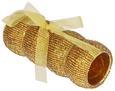 Serviettenringeset Ricki Goldfarben, 4-teilig - Goldfarben, KONVENTIONELL, Kunststoff (5,5cm)