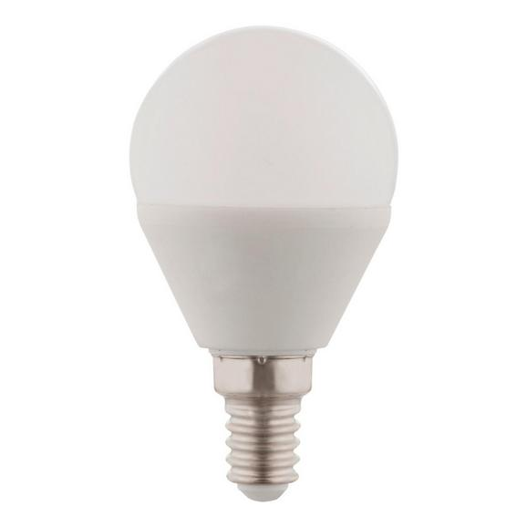 Led-žarnica 10561d - bela/opal, kovina/umetna masa (4,5/7,8cm)