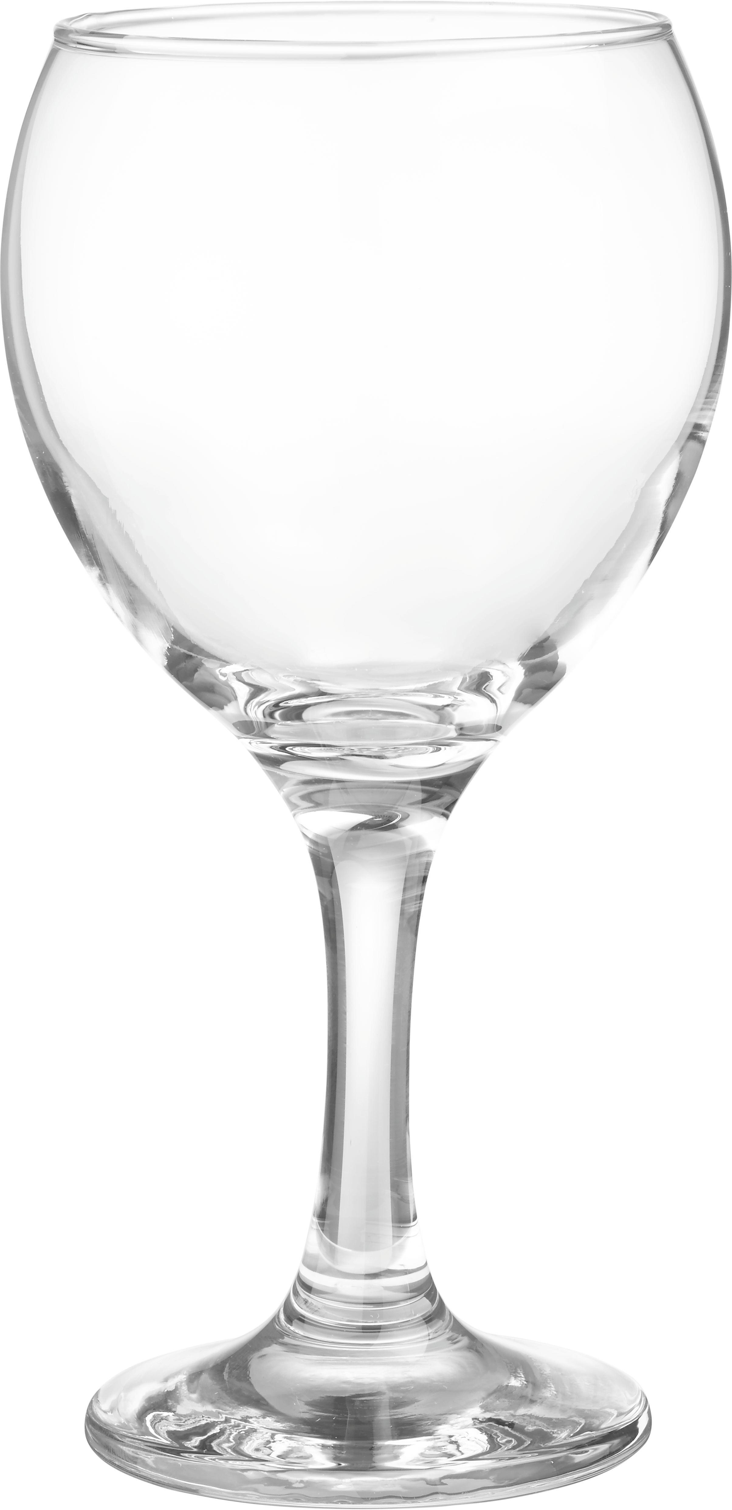 Fehérboros Pohár Billie - tiszta, üveg (6,8/16cm) - MÖMAX modern living