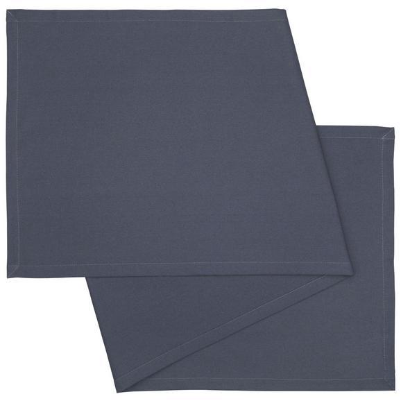 Tischläufer Steffi Dunkelgrau - Dunkelgrau, Textil (45/150cm) - Mömax modern living