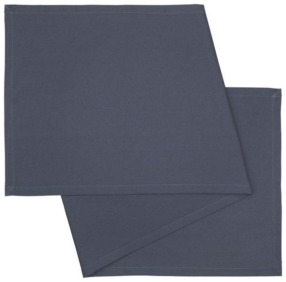 Tischläufer Steffi in Dunkelgrau - Dunkelgrau, Textil (45/150cm) - MÖMAX modern living