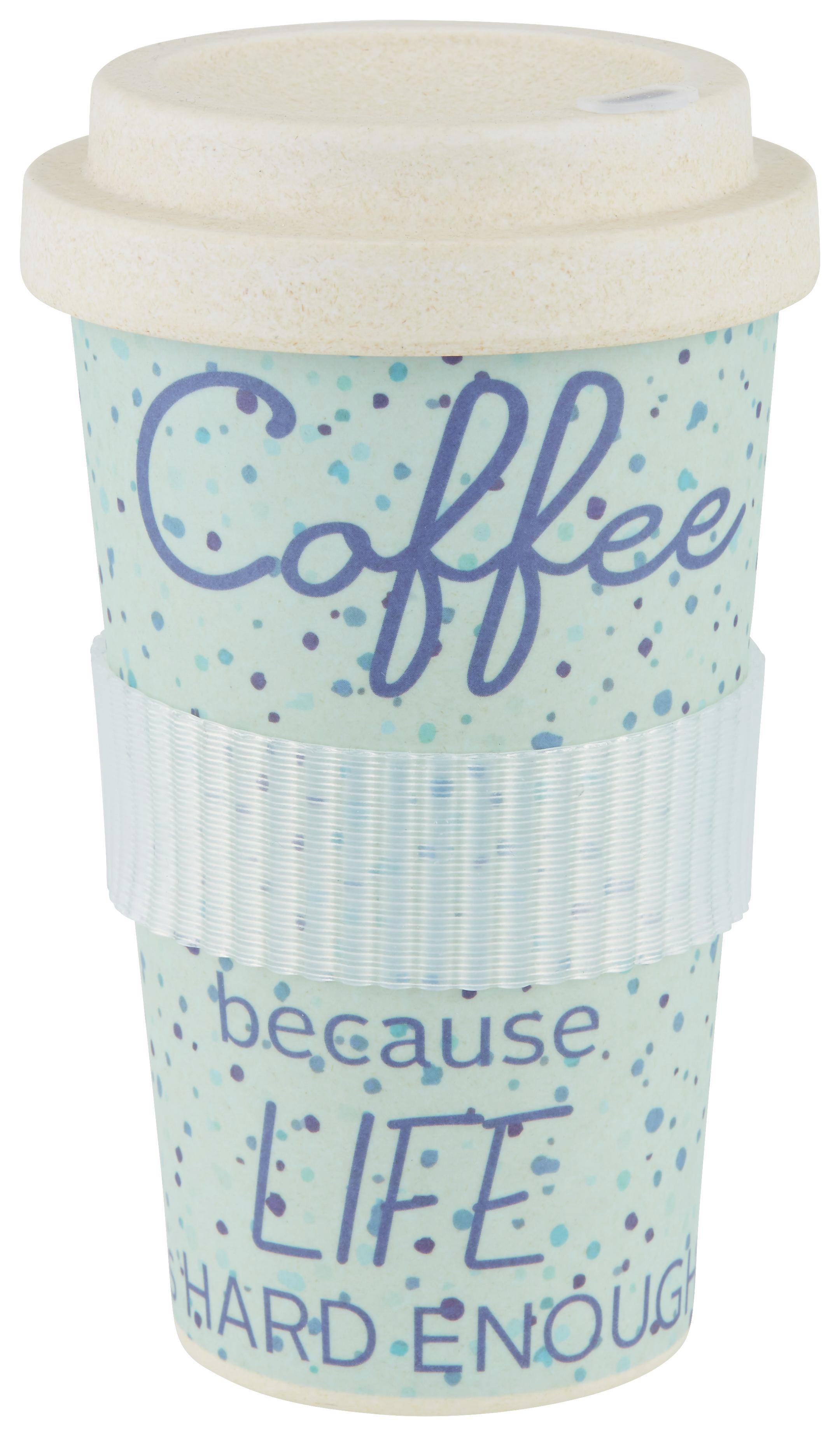 Coffee-to-go-becher Annie in verschiedenen Farben - Naturfarben, Holzwerkstoff/Kunststoff (9/16cm) - MÖMAX modern living