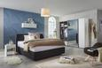 Boxbett Anthrazit ca.180x200cm - Anthrazit, Holzwerkstoff/Textil (180/200cm) - Premium Living