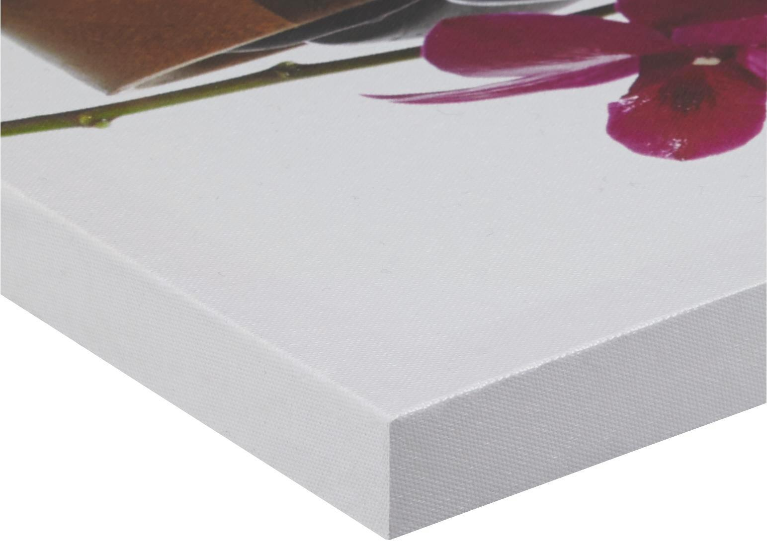 Bild Orchidee, ca. 30x90x2,5cm - Multicolor, LIFESTYLE, Holz/Textil (30/90/2,5cm) - MÖMAX modern living