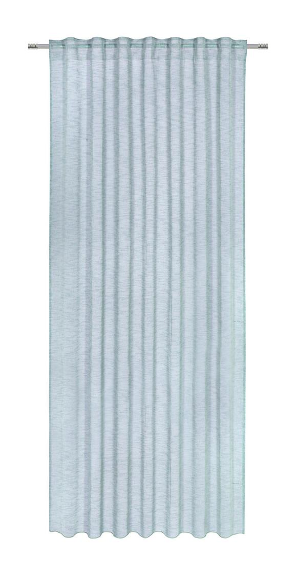 Fertigvorhang Sigrid Jade 140x245cm - Grün, ROMANTIK / LANDHAUS, Textil (140/245cm) - Premium Living