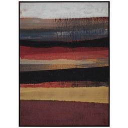 Keilrahmenbild Denise ca. 100x140cm - Gelb/Rot, Holz/Kunststoff (100/140cm) - Mömax modern living