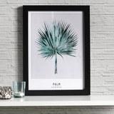 Bild Palm ca.30x40x1,7cm - Schwarz/Grün, MODERN, Kunststoff (30/40/1,7cm) - Mömax modern living