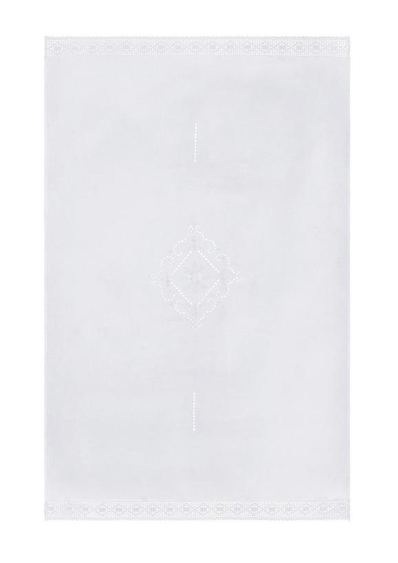 Tischdecke Spitze in Weiß - Weiß, ROMANTIK / LANDHAUS, Textil (140/220cm) - MÖMAX modern living