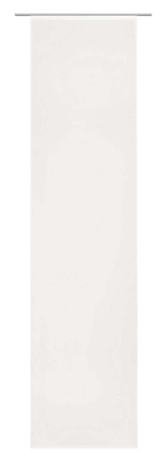 Flächenvorhang Flipp, ca. 60x245cm - Creme, Textil (60/245cm) - BASED