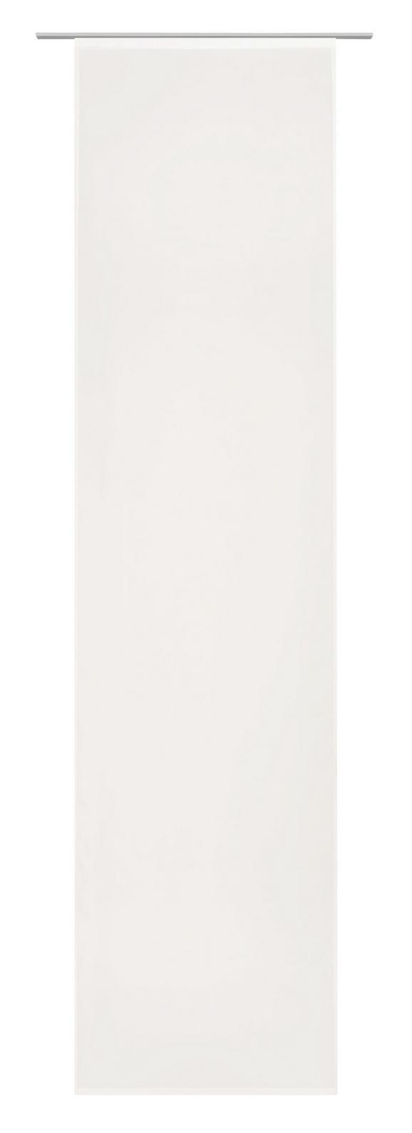 Flächenvorhang Flipp Creme 60x245cm - Creme, Textil (60/245cm) - Based