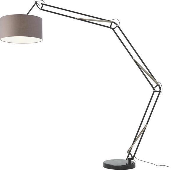 Stehleuchte Raul - Schwarz/Grau, MODERN, Metall (172/50/240cm) - MÖMAX modern living