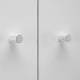 KLEIDERSCHRANK in Weiß 'Milo' - Weiß, MODERN, Holz (80/178/55cm) - Bessagi Home